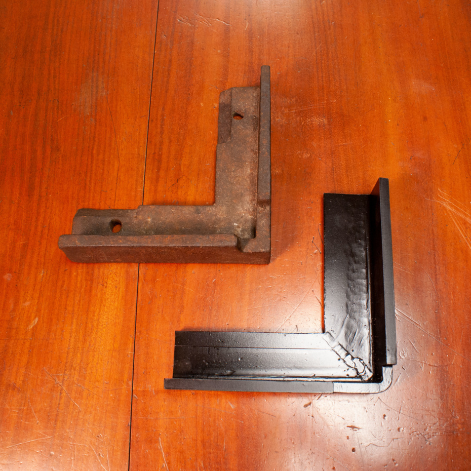 new albion bracket fabricated in steel