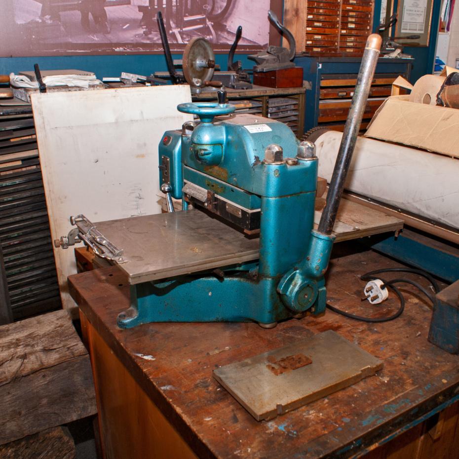 Masseeley Model 21 hot foil press for sale