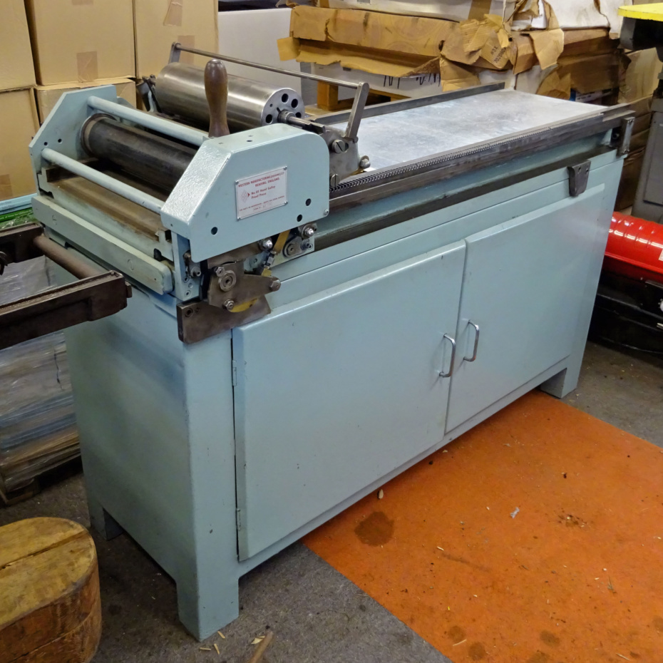 Western Number 5 galley proofing press for sale